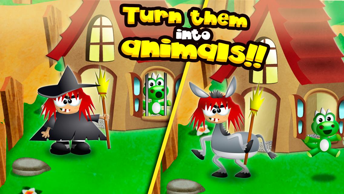 Turn them into Animals