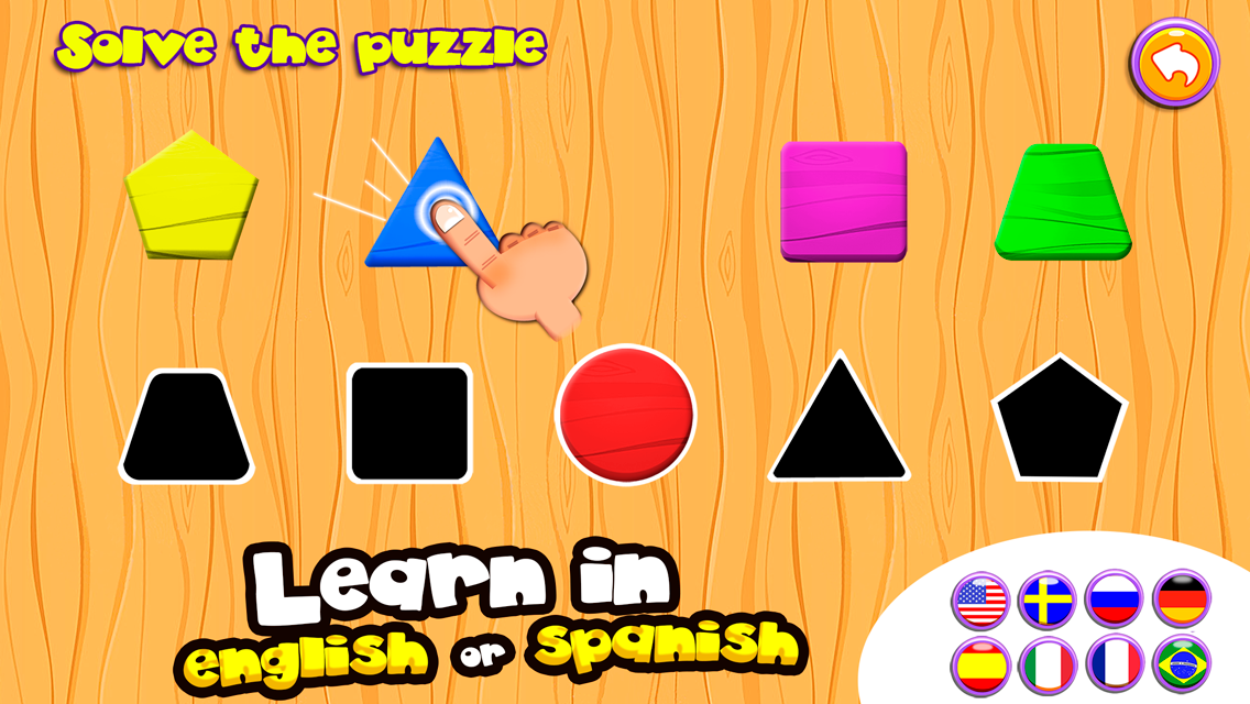 Learn in English and Spanish