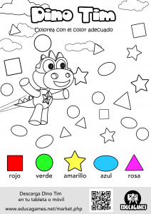 Dino Tim Printable sheet 3